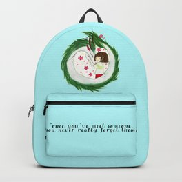 Watercolor Spirited Away - The Love Gathering Backpack
