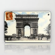 Antique / Vintage French Post Card - L'Arc De Triomphe De L'Etoile Laptop & iPad Skin