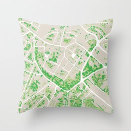 Trees Of Opava Throw Pillow