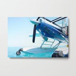 Seaplane Metal Print