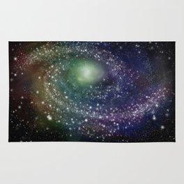 Rainbow Galaxy Rug