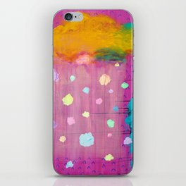 Cotton Candy Conundrum iPhone Skin