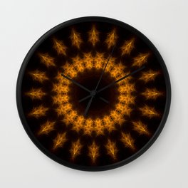 To Reign In Hell Wall Clock