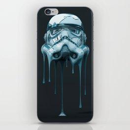Stormtrooper Melting Dark iPhone Skin