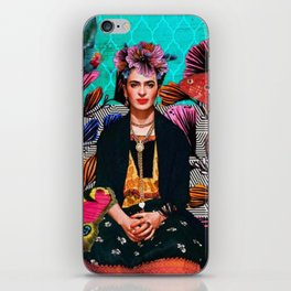 Frida´s secret iPhone Skin