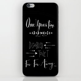 Once Upon a Time... iPhone Skin