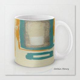 Soft And Bold Rothko Inspired Modern Art Coffee Mug Large Canvas Print