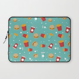 Burgers pattern Laptop Sleeve