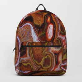 Earth Tones Abstract by Lena Owens Backpack