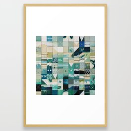 Sea Marks 1 Framed Art Print