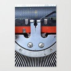 Vintage typewriter 2 Canvas Print