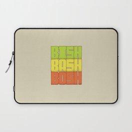 Bish Bash Bosh Laptop Sleeve