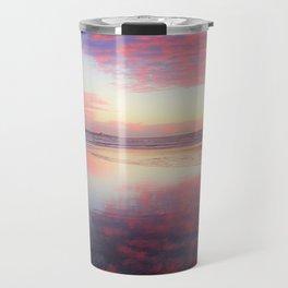 A Sunset Like Cotton Candy by Reay of Light Travel Mug