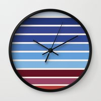 ponyo Wall Clocks featuring The colors of - Ponyo by hyos