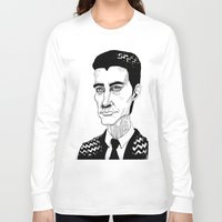 dale cooper Long Sleeve T-shirts featuring Cooper by Simone Bellenoit : Art & Illustration
