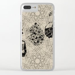soliloquy Clear iPhone Case