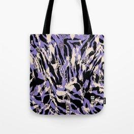 Savannah -Purple,Black,Tan Tote Bag