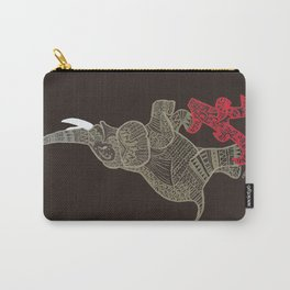 Alabama Proud (Elephant) Carry-All Pouch