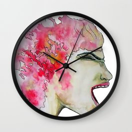Anger Wall Clock