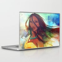 x files Laptop & iPad Skins featuring The Wind... by Alice X. Zhang
