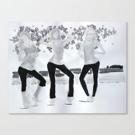 Model02 Canvas Print