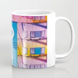 Key to the love colourfull illustration Coffee Mug
