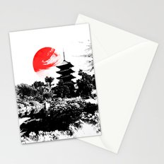 Abstract Kyoto - Japan Stationery Cards