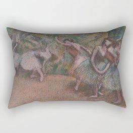 Edgar Degas - Ballet Scene Rectangular Pillow