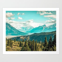 Scenic #photography #nature Art Print