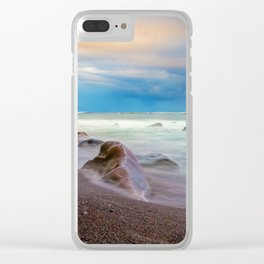 maia beach 2 Clear iPhone Case