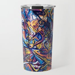 Magenta Atmosphere Travel Mug