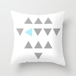 your color Throw Pillow