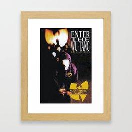 Enter The Wu-Tang  Framed Art Print