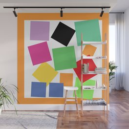 Bouquet of Squares Wall Mural