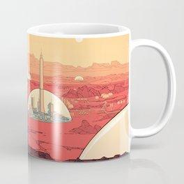 Future Desert City Coffee Mug