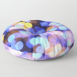 Diffused Lights Floor Pillow