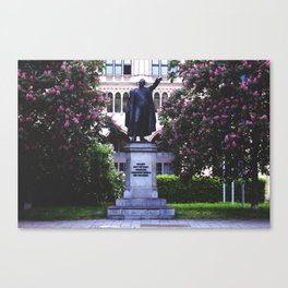 General Among Flowers Canvas Print