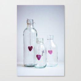 Purple love Canvas Print