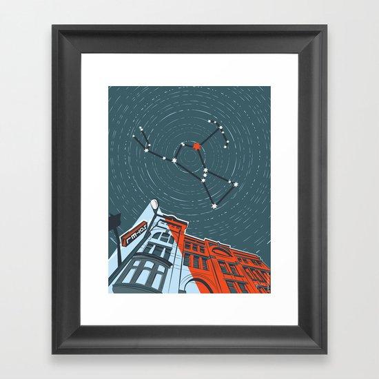 Hunter, Hunter Framed Art Print
