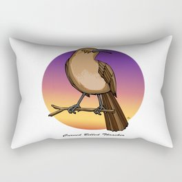 CURVE-BILLED THRASHER Rectangular Pillow