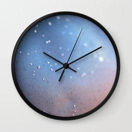 Frozen Blue Wall Clock