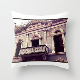 Old San Juan - Decay Throw Pillow