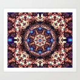 Mandeleyes mandala - Manafold Art Art Print