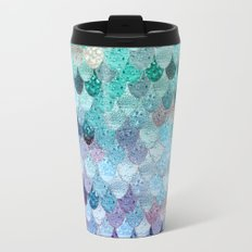 SUMMER MERMAID II Metal Travel Mug