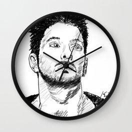Modern Roman, Fabio De Angelis Wall Clock