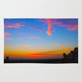 Beautiful sunset Rug
