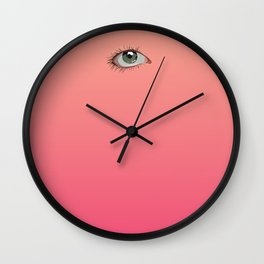Pretty Weird Wall Clock