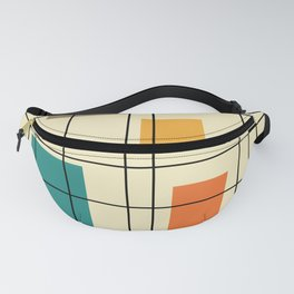 1950's Abstract Art Fanny Pack