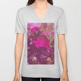 Vibrant as a Desert Rose Unisex V-Neck