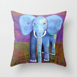 spirit of the elephant Throw Pillow